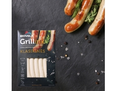 CLASSIC cooked frankfurters for grilling